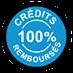 Credits 100% remboursés