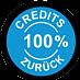 100% Credits zurück